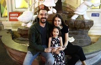 Benderlioğlu ailesinin doğum günü heyecanı