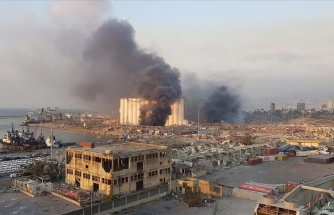Beyrut'ta Büyük Bir Patlama Meydana Geldi