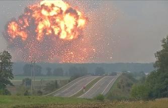 Birçok Haber Kanalı, Sakarya'daki Havai Fişek Fabrikasının Patlama Hatıra Diyerek Ukrayna'da Meydana Gelen Başka Bir Patlama Görüntüsünü Servis Etti