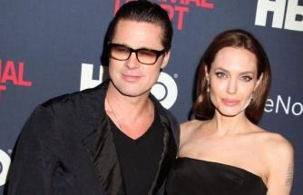 Brad Pitt, Angelina Jolie'nin evinde görüntülendi