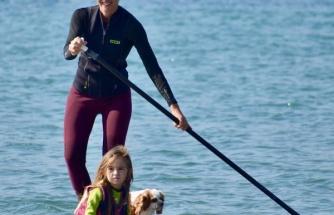 Çağla Kubat, kızını da sörfçü oldu