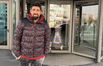 Cangele, Kayseri'ye geldi