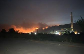 Canlı Blog | Milas'taki Yangın Termik Santralle Temas Etti