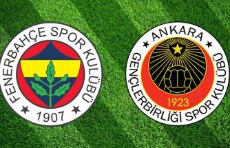 CANLI İZLE: Fenerbahçe Gençlerbirliği | FB Gençlerbirliği şifresiz izle| FB Gençlerbirliği Maç kaç kaç