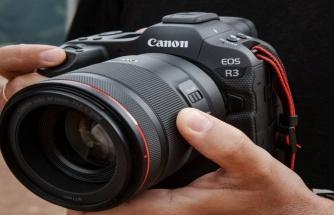 Canon'dan yeni kamera: EOS R3