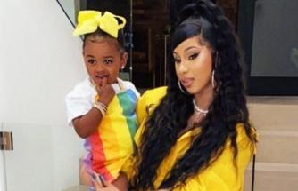 Cardi B'nin kızı 1 günde Instagram yıldızı oldu