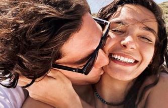 Cedi Osman ve Ebru Şahin'den aşk pozları