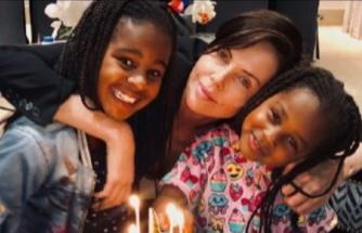 Charlize Theron, çocuklarıyla fotoğraf paylaştı