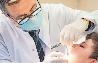 CHP'li başkan sayesinde 64 binden fazla çocuk diş taramasından geçti