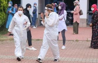 Corona virüsü vakası çıktı, 1000 işçiye antikor testi yapıldı