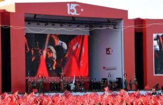 Cumhurbaşkanı Erdoğan, Atatürk Havalimanı'nda büyük buluşmaya katıldı