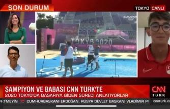 Daha Tatlı Bir Buluşma Yok: CNN Türk Yayınına Bağlanan Mete Gazoz'un Babası ile Selamlaştığı Müthiş Anlar