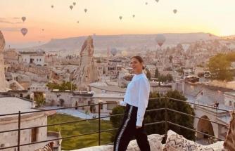 Demet Özdemir Kapadokya'da