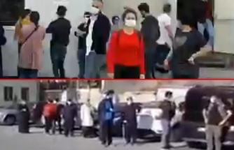 Devlet hastanesinde ürküten manzara: Yüzlerce vatandaş Covid-19 testi için sıra bekledi