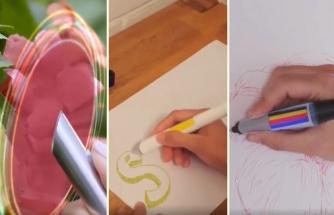 Doğadaki Renkleri Sensörü Sayesinde Tespit Edip Mürekkebini O Renge Çeviren Muhteşem Bir Kalem