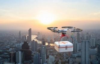 Drone'la taşınan ilk akciğer!