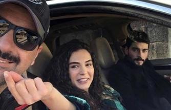 Ebru Şahin ile Akın Akınözü'nün eğlenceli