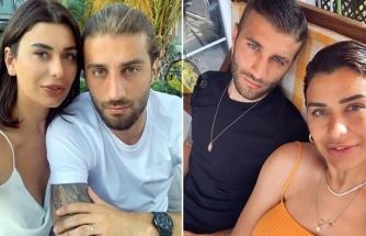 Ebru Şancı'dan genç eşine romantik kutlama