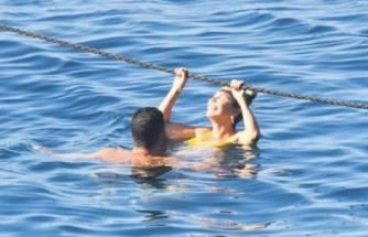 Ece Erken ile Şafak Mahmutyazıcıoğlu aşk tatilinde