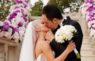 Ece Seçkin'in düğün fotoğrafları