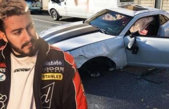 Enes Batur trafik kazası geçirdi: 1 milyon TL'lik lüks arabası pert oldu
