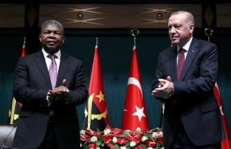 Erdoğan: 'Türkiye Terörle Mücadelede Kendisini İspatlamış Bir Ülke Olarak Angola'nın Yanında Olacak'