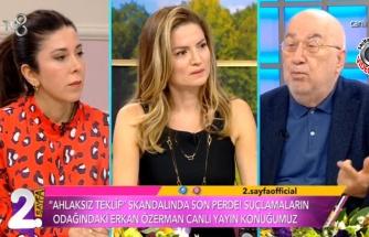 Erkan Özerman hakkında ortaya atılan iddiaların ardından konuştu