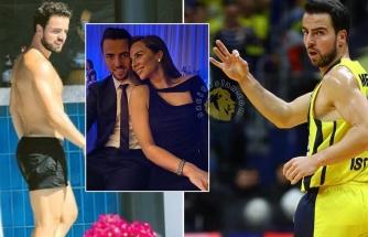 Fenerbahçe'nin kaptanı tatil keyfinde