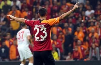 Florin Andone, Galatasaray'da ilk gollerini attı