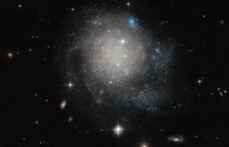 Garip bir galaksi keşfedildi