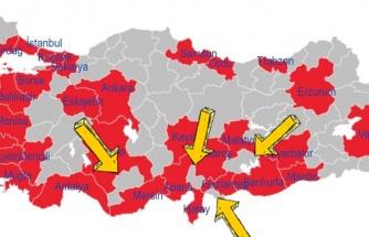 Giriş Çıkış Yasağı Olan İllerin Ortasında Kalan Osmaniye, Kilis, Karaman ve Adıyaman'a Ne Olacak?