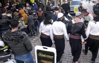 Gösteri Ekibi Getirildi: Avcılar'da Halaylı Restoran Açılışı