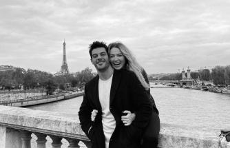 Hadise ile Mehmet Dinçerler Paris'te