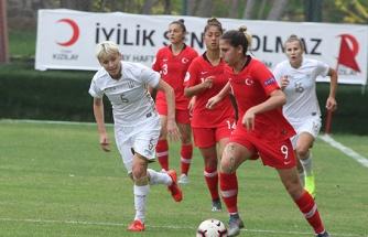 Hazırlık maçı: Türkiye: 0 - Ukrayna: 4