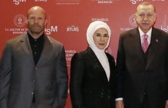 Hollywood Yıldızları Jason Statham ve Guy Ritchie, Cumhurbaşkanı Recep Tayyip Erdoğan'ın Doğum Gününü Kutladı