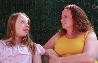 İngiliz 13 yaşındaki Olivia, skolyoz tedavisi ve ameliyat için Türkiye'ye gelecek