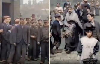 İngiltere'de 1900'lü Yıllarda Çekilen ve Günümüz Teknolojisi ile Renklendirilen Müthiş Görüntüler