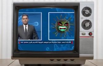 Irak Televizyonu İnsanları Bilinçlendirmek Adına Koronavirüs ile Röportaj Yaptı