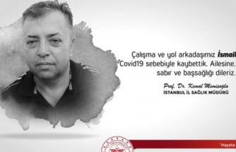 İstanbul İl Sağlık Müdürlüğünün Covid-19 kaybı