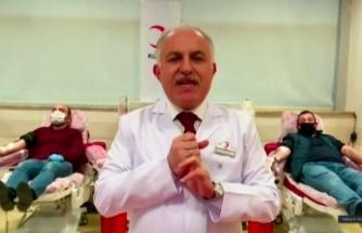 'İyileşmiş vatandaşlarımızı 14 gün sonra kan merkezlerine bekliyoruz'