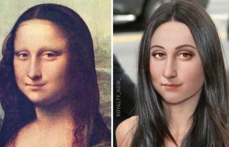 Kafa Karıştırıcı Mona Lisa canlandırması