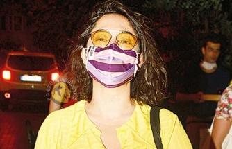 Kalben 'linç edilmemek için' maske takıyor