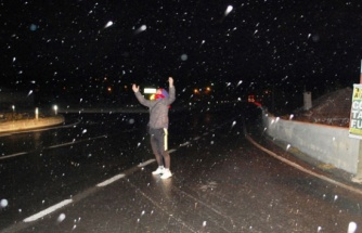 Kar yağışı İstanbul'un kapısına dayandı