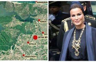 Katar Emiri'nin Annesi, Kanal İstanbul Güzergahından 44 Dönüm Arazi Satın Almış