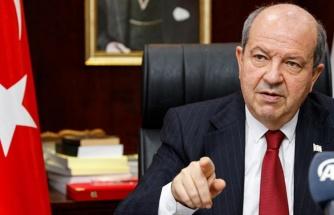 KKTC Cumhurbaşkanı Tatar: Başbakan göreve devam etmek istemiyor
