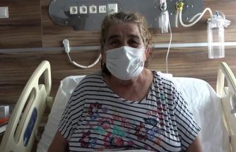 Korona virüs sebebi ile ölümden dönen kadından çağrı: 'Herkes aşı olsun, benim gibi eziyet çekip pişman olmasınlar'