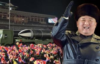 Kuzey Kore lideri Kim Jong-Un'dan ABD'ye gözdağı: Dünyanın en güçlü silahı devlet kanalında tanıtıldı