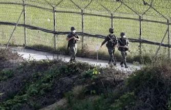 Kuzey Kore, sularına giren Güney Koreli askeri önce vurdu, sonra yaktı