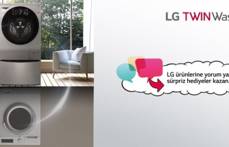 LG deneyimini yaz, indirim kazan