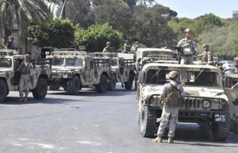 Lübnan'da ordu sokağa indi! Göstericilerle asker arasında çatışmalar yaşanıyor, ölü ve yaralılar var